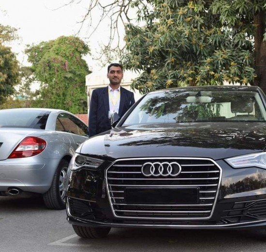 Muhammad-Usman-With-Audi-And-Mercedes-At-Royal-Palm-Golf-And-Country-Club-Lahore-At-Nikon-D5500-Launch